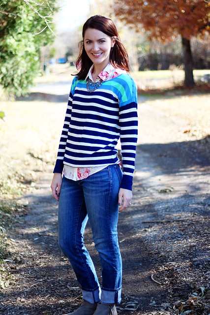 striped-sweater-floral-button-down-4