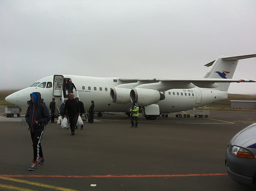 norway fog flight bergen faroeislands redirected cwall faroes atlanticairlines