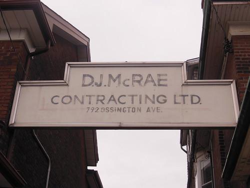 D.J. McRae Contracting Ltd.