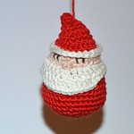 santa tree ornament