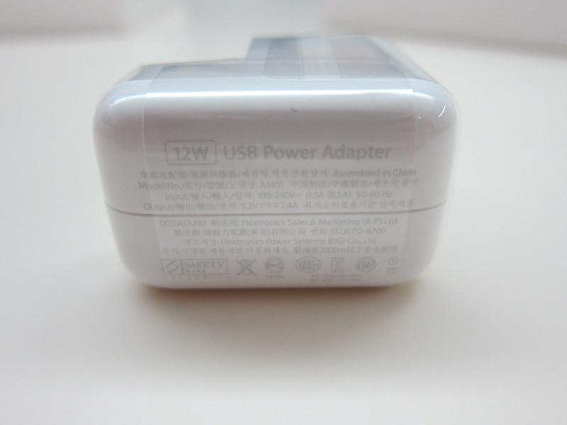 Apple iPad Air - 12W USB Power Adapter