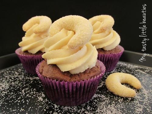 Vanillekipfel Cupcakes