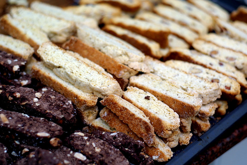 Biscotti three ways