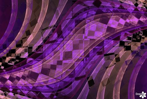 Purple Diamond Scarf