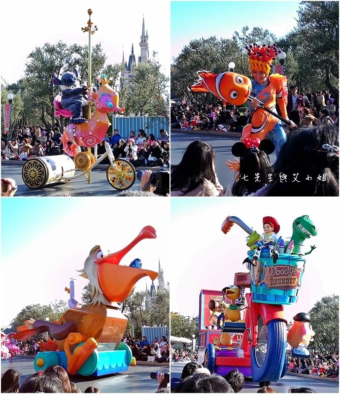 5 迪士尼聖誕村大遊行幸福在這裡夢之光大遊行