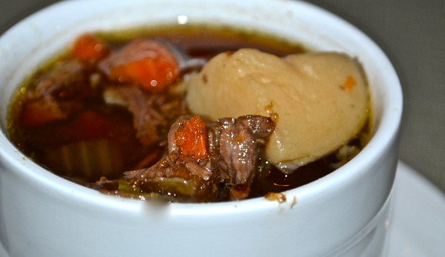 Beef Soup - soup of the day -plantation inn