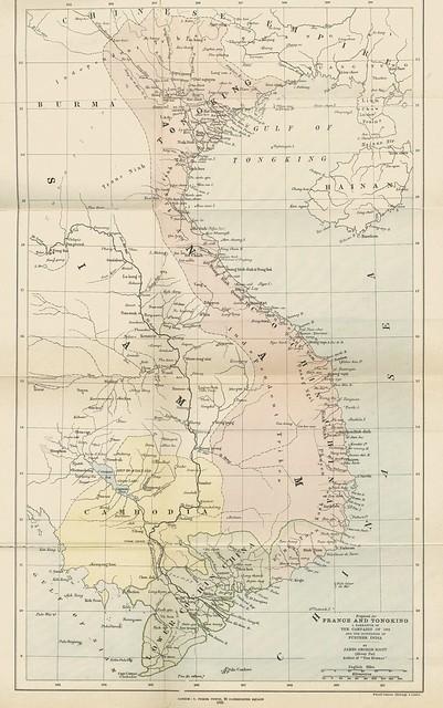 Bản đồ Việt Nam 1884