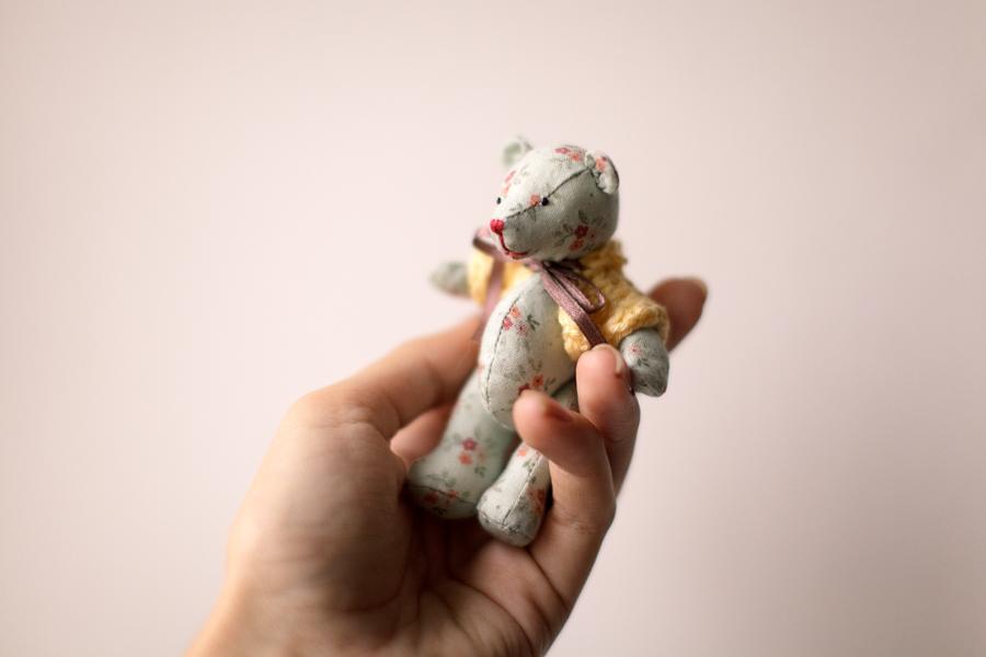 игрушка, тедди, ручная, работа, медвежонок, адвита, россия, плюшевый