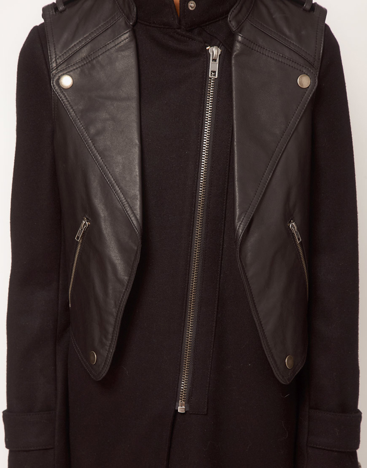 ASOS Limited Edition Biker Coat