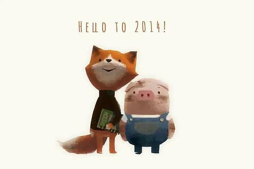 Hello to 2014!
