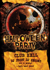 Preview Halloween Party Flyer