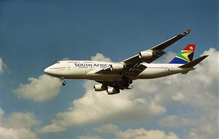 South African Airways B747-444 ZS-SAY