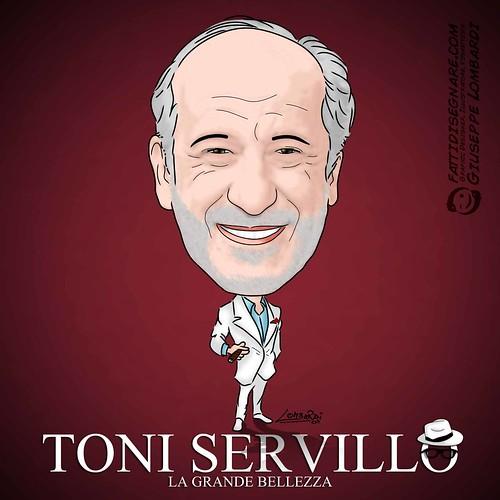 Toni Servillo by Giuseppe Lombardi