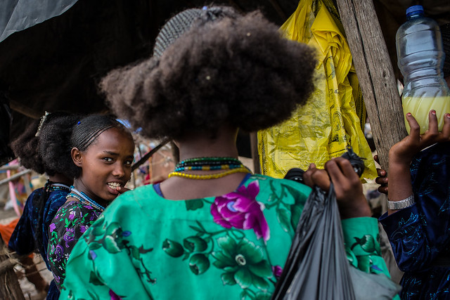 oromo girls in bati market