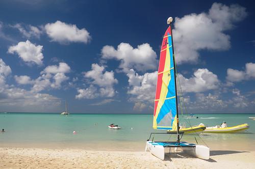 beach boat barco playa aruba sail palmbeach velas netherlandsantilles flickraward antillasholandesas