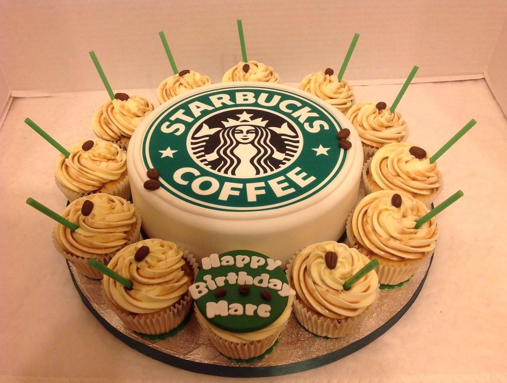Starbucks Birthday Cake Cupcakes