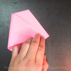 สอนวิธีการพับกระดาษเป็นรูปเป็ด (Origami Duck) - 006.jpg