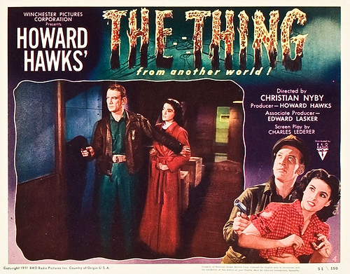 The Thing from Another World (RKO, 1951). Lobby Card (11