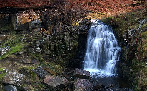 waterfall weardale