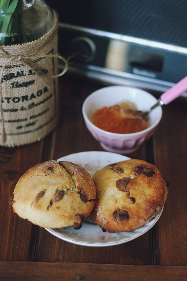 Chocolate Marmalade Scones Recipe