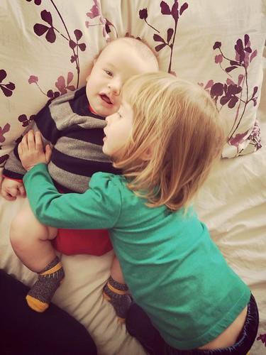 """""""He's so cute. I wish we named him mom mom. Or Oliver. Awwww he's so cute."""""""
