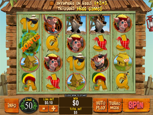 Piggies and the Wolf slot game online review