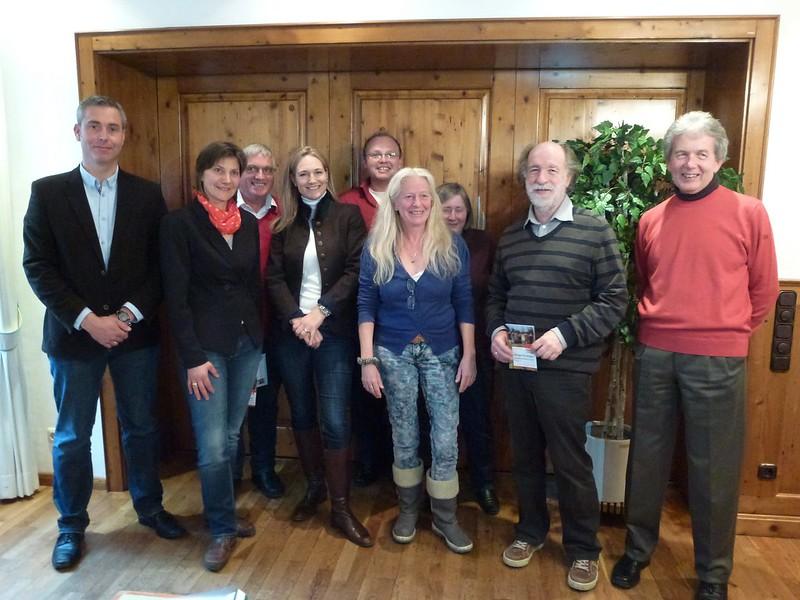 Vorstellung der Andechser SPD-Gemeinderatsliste 2014, mit Landratskandidatin Julia Ney
