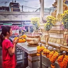 Pray #bangkok #thailand