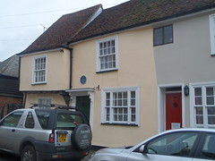 Photo of Red Cow, Ware blue plaque