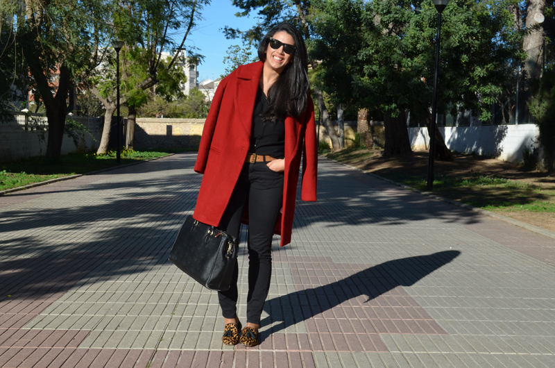 red coat inspiration florenciablog fashion blogger