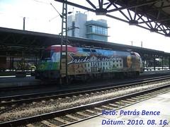 GySEV 1047 505-1 (Széchenyi Taurus) Sopron, 2010. 08. 16.
