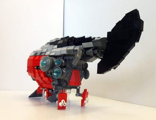 1 ft LEGO Rocketship House 5