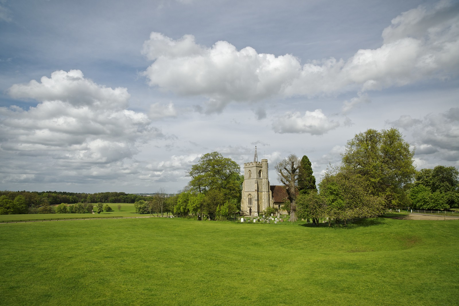 View of St Mary's Knebworth