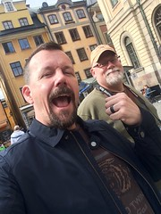 Look who I found in Sweden!