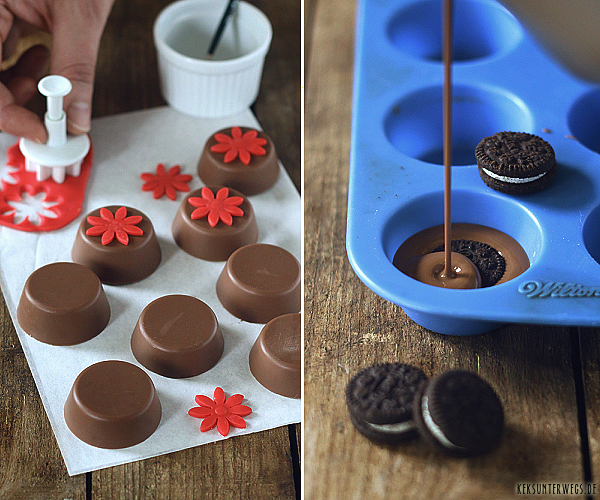 Chocolate Covered Mini-Oreos   @ yumlaut.de