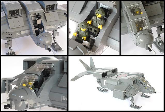 Aliens Dropship Cockpit Details