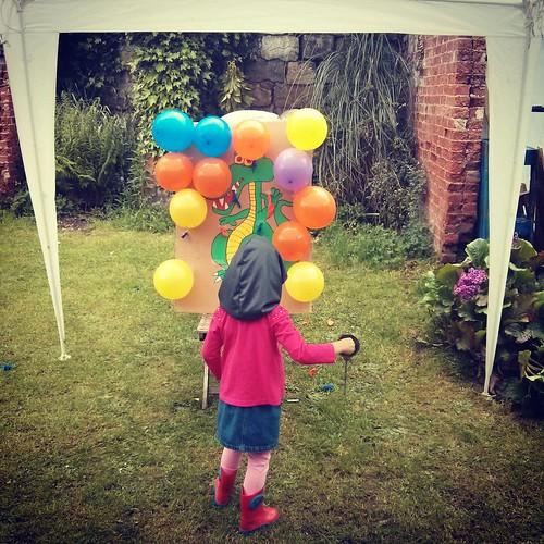 balloon pop jousting