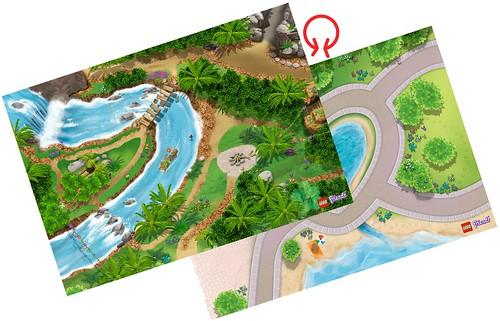 LEGO Friends Jungle Playmat #851325