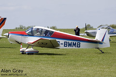 G-BWMB JODEL D.119 77 PRIVATE -Sywell-20130601-Alan Gray-IMG_9291