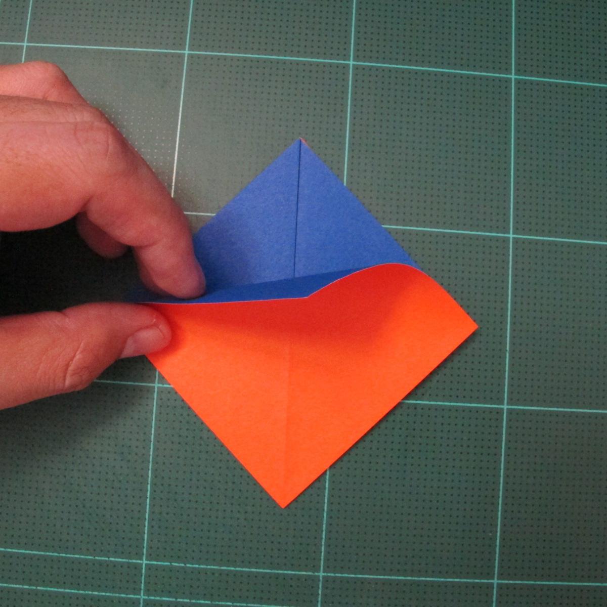 การพับกระดาษเป็นรูปเรือใบ (Origami Sail Boat) 002