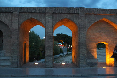 travel landscape spring view iran sightseeing persia historical esfahan isfahan