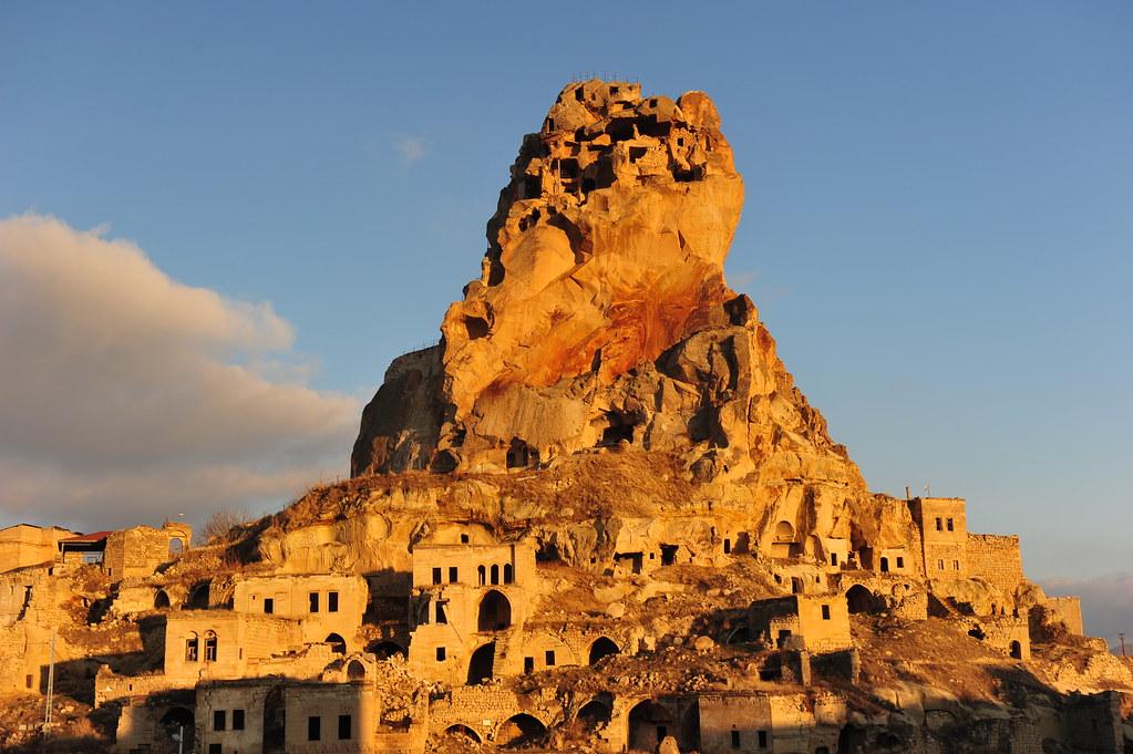 Ortahisar Castle, Cappadocia (Kapadokya, Turkey) 1269