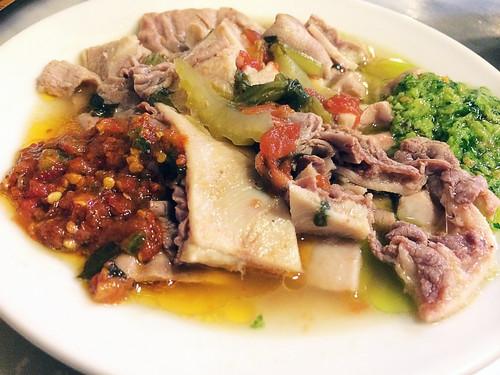 Lampredotto (cow's stomach) at Nerbone