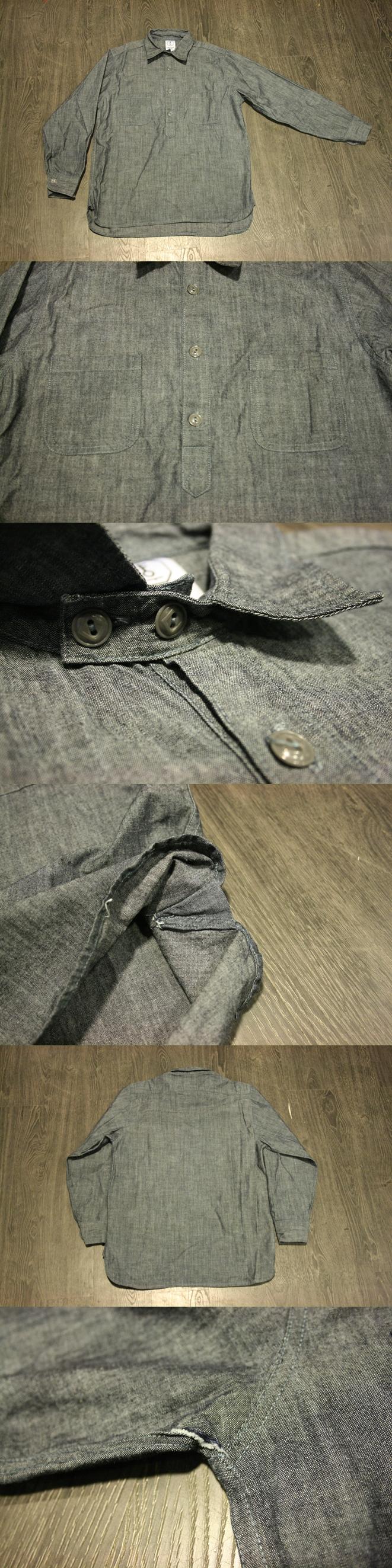 Folta&Co Half Button Shirt