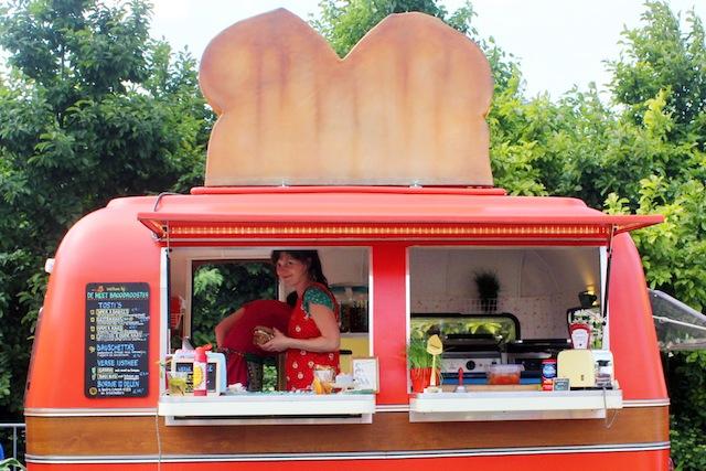 Rollende Keukens 2014 Amsterdam tosti camper van