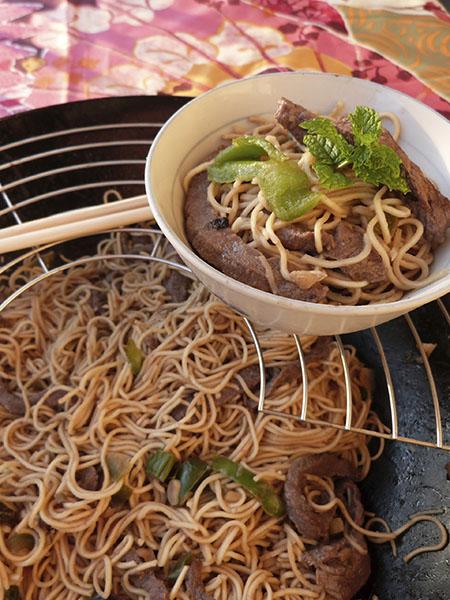 wok au rumsteak