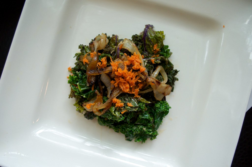 Kale Salad Top View