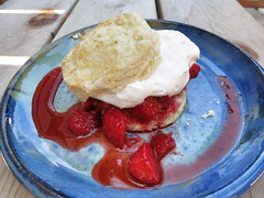 Shortcakes with Strawberries and Whipped Cream