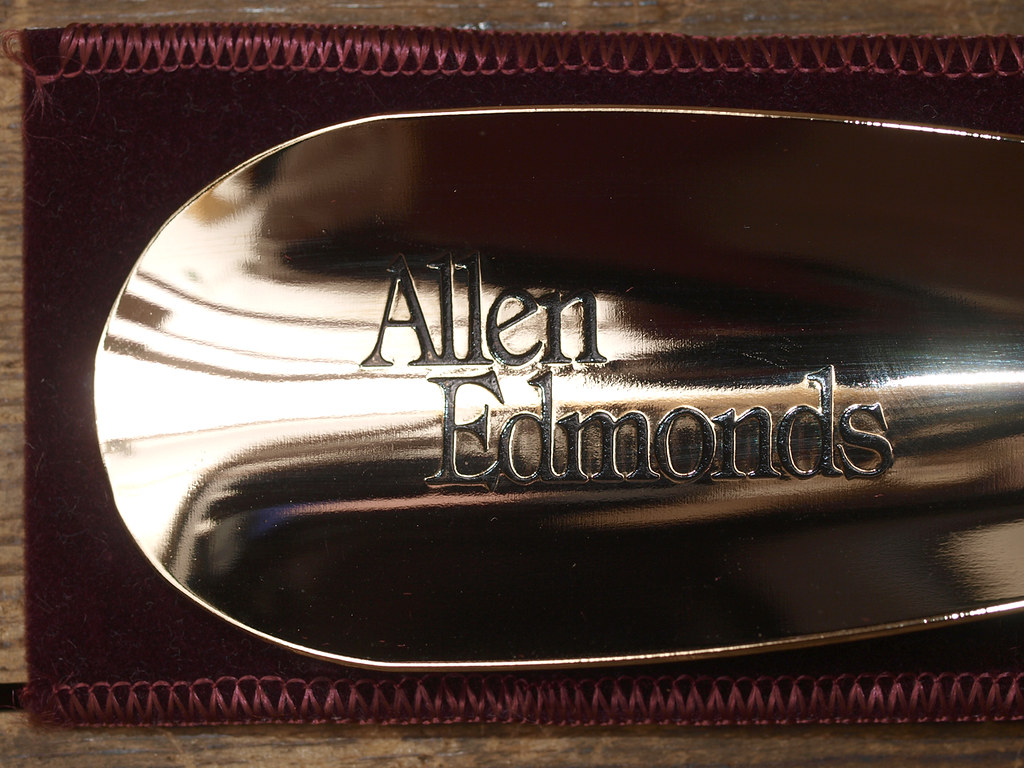 f7205214b7887 Allen Edmonds   Brass Plated Shoehorn