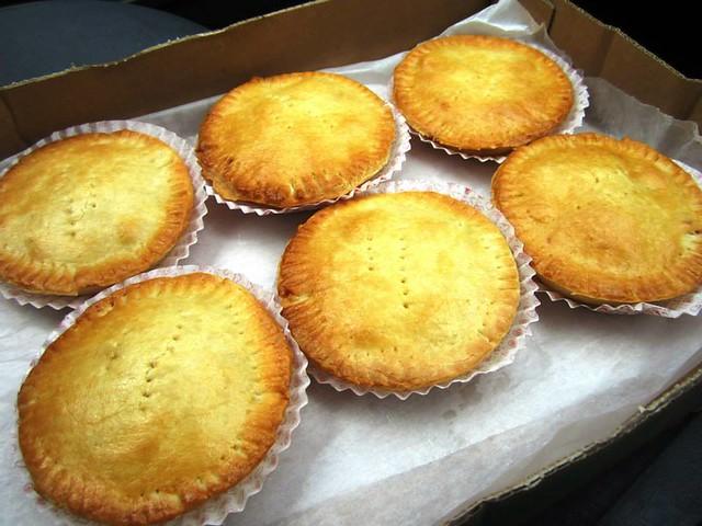 Aroma Bakery chicken pies